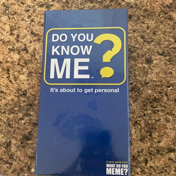 Do You Know Me card game